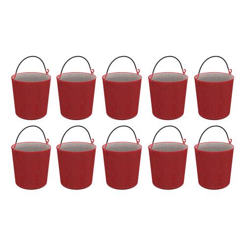 44-524 Fire Buckets (x10)