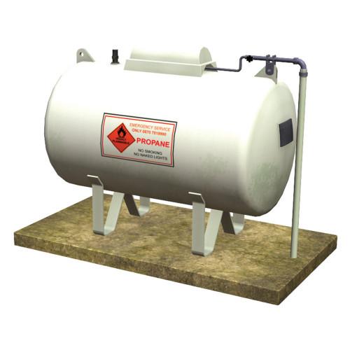 44-536 Scenecraft Two Domestic/Small Industrial Tanks