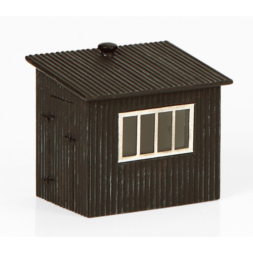 44-558 Corrugated Metal Shed 32mm x 24mm x 32mm