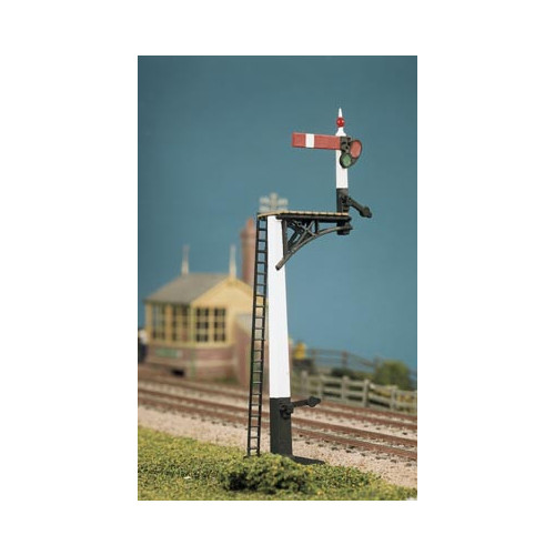 466 Ratio Kit GWR Square Post (4 Signals inc. Jcn/Brackets) - 00 Gauge
