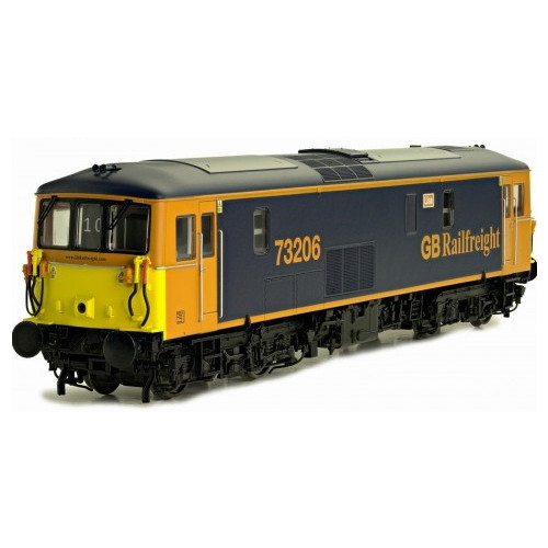 4D-006-007 Class 73 GB Railfreight Blue & Yellow Lisa 73206