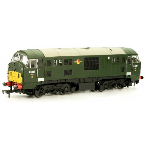 4D-012-002 CLASS 22 No.D6327 Green with amended yellow panel Disc H/C