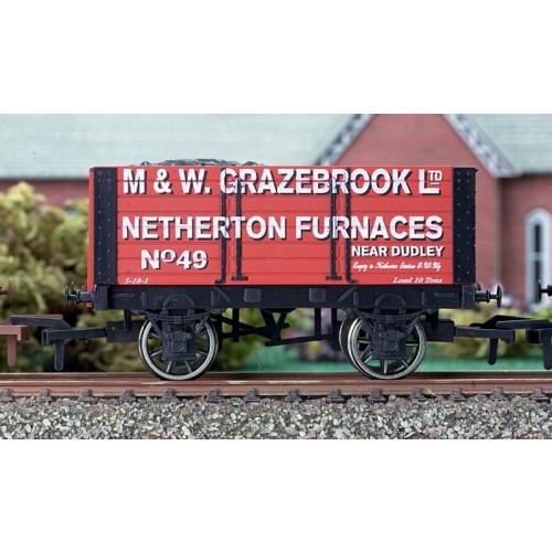 4F-072-001 7 Plank Wagon Grazebrook 9' Wheelbase