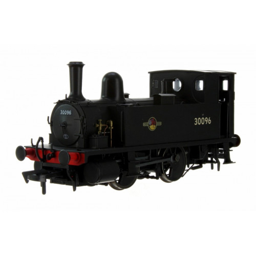 4S-018-005 B4 0-4-0T Tank Locomotive No.30096 in BR Black with Late Crest