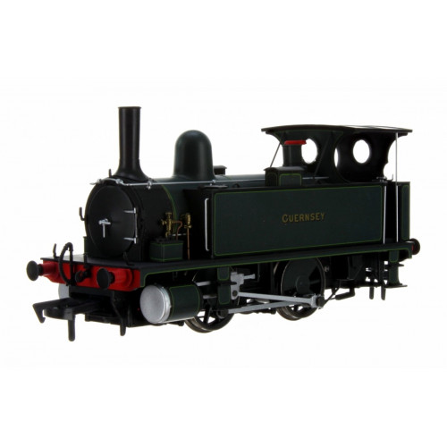 4S-018-007 B4 0-4-0T Tank Locomotive Guernsey in Dark Green Lined Livery