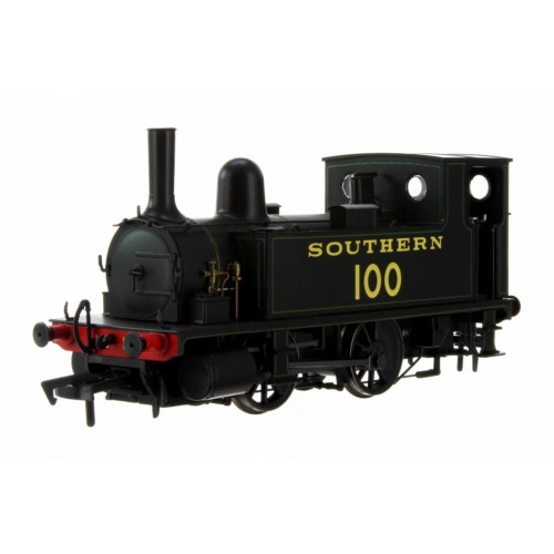 4S-018-008 B4 0-4-0T Tank Locomotive No.100 in Southern Black Lined Green Livery