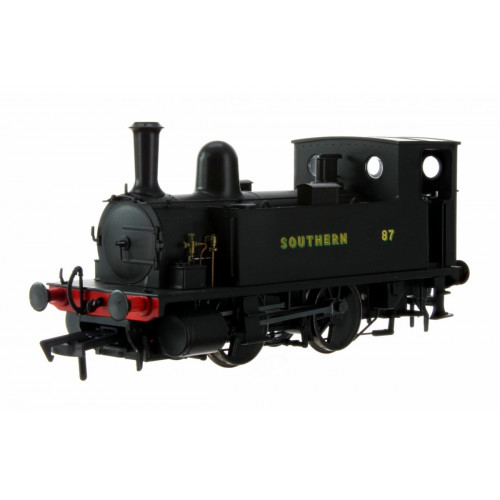 4S-018-009 B4 0-4-0T Tank Locomotive No.87 in Southern Wartime Black Livery