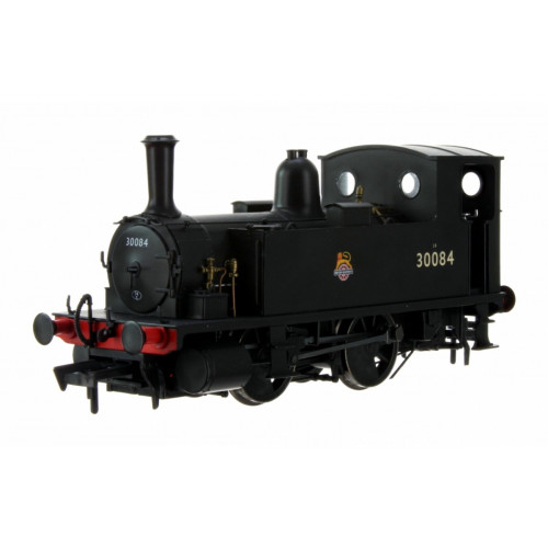 4S-018-011 B4 0-4-0T Tank Locomotive No.30084 in BR Black with Early Crest