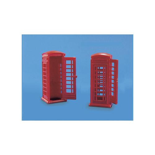 5006 Modelscene 00 Gauge Telephone Boxes