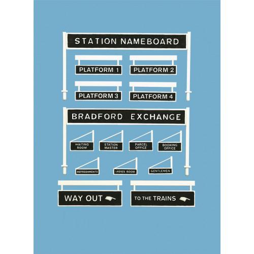 5049 Modelscene 00 Gauge Platform Signage