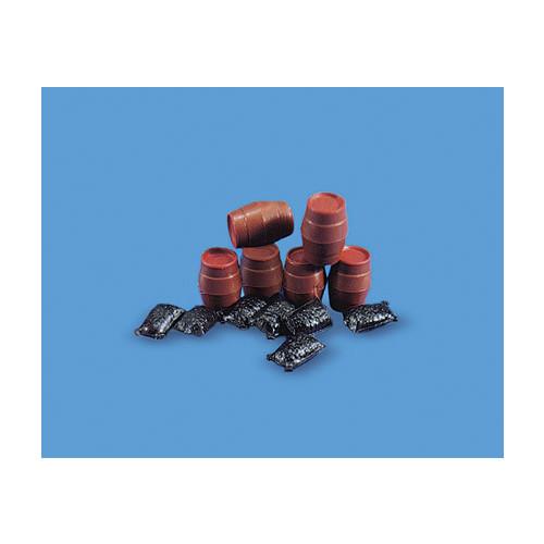5064 Modelscene 00 Gauge Sacks & Barrels