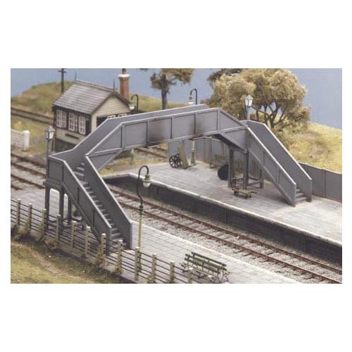 517 Ratio Kit Concrete Footbridge - 00 Gauge