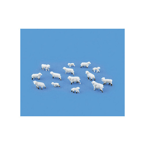 5177 Modelscene N Gauge Sheep & Lambs