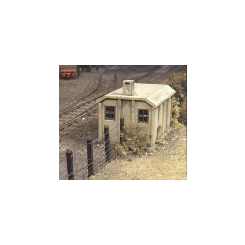 518 Ratio Kit Concrete Lineside Huts (2) - 00 Gauge