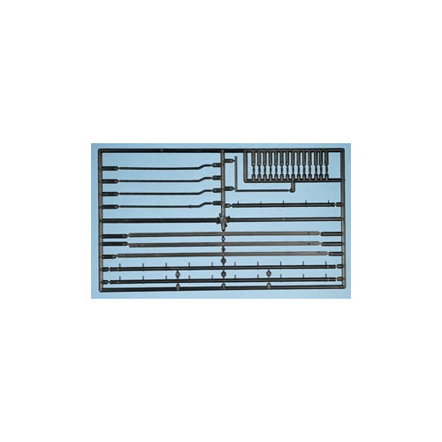 538 Ratio Kit Gutters/Downpipes - 00 Gauge