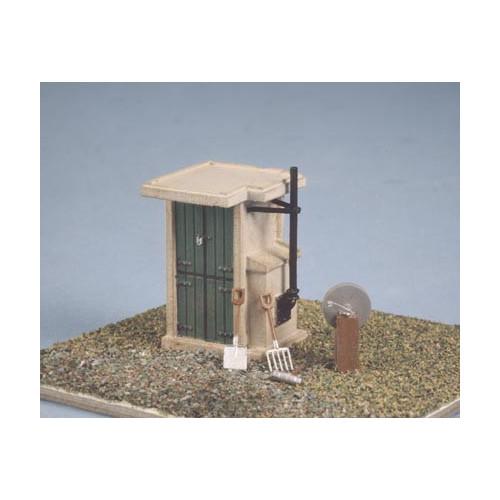 549 Ratio Kit Fogmans Hut - 00 Gauge