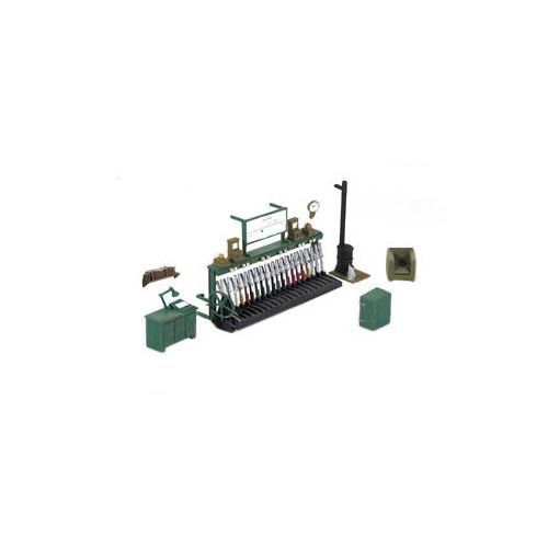 553 Ratio Kit Signal Box Interior  - 00 Gauge