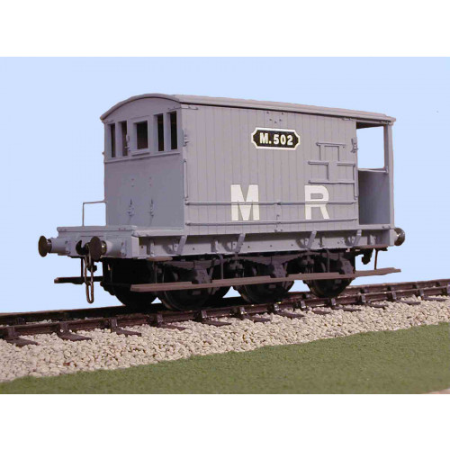 7034 MR 6 Wheel 20 Ton Brake Van