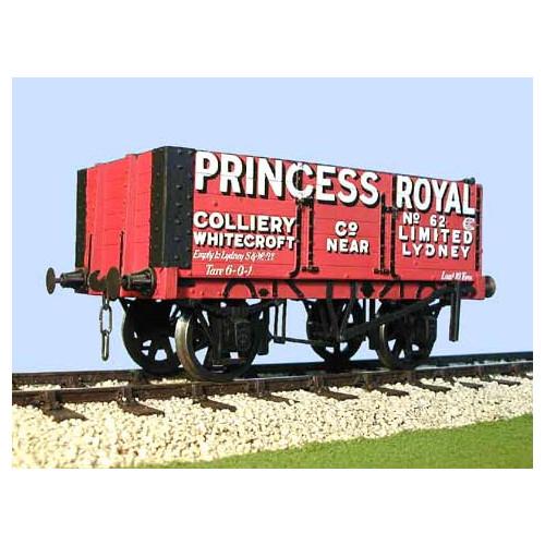 "7036R ""Princess Royal"" Colliery Whitecroft Coal Wagon"