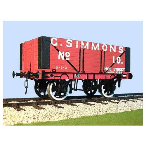 7040S 7 Plank Open Wagon G. Simmons Coal Merchant, Walthamstow