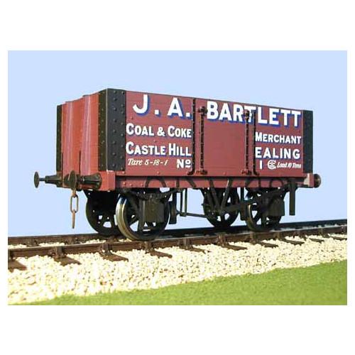 7058B Private Owner Wagon J A Bartlett Coal & Coke Merchants Ealing