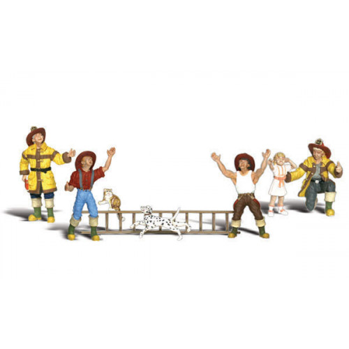 A2151 N Gauge Firemen To The Rescue