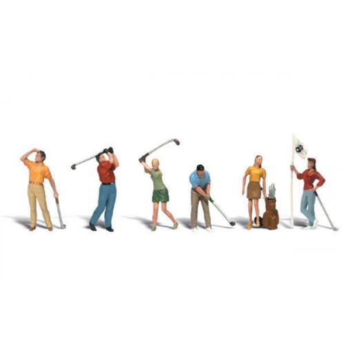 A1907 Golfers