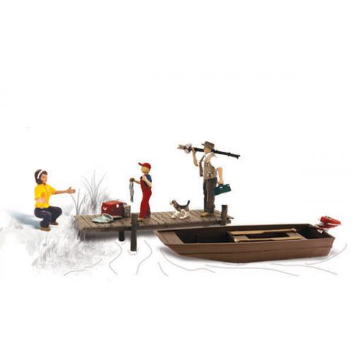 A1923 Family Fishing