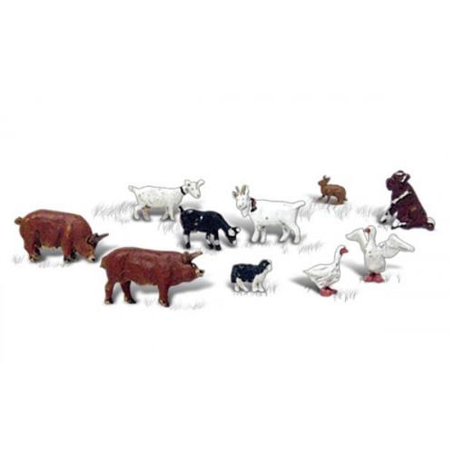 A2202 N Gauge Barnyard Animals