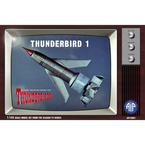 AIP10001 1:144 Scale Thunderbird 1 Plastic Construction Kit