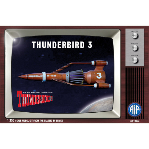 AIP10003 1:350 Scale Thunderbird 3 Plastic Construction Kit