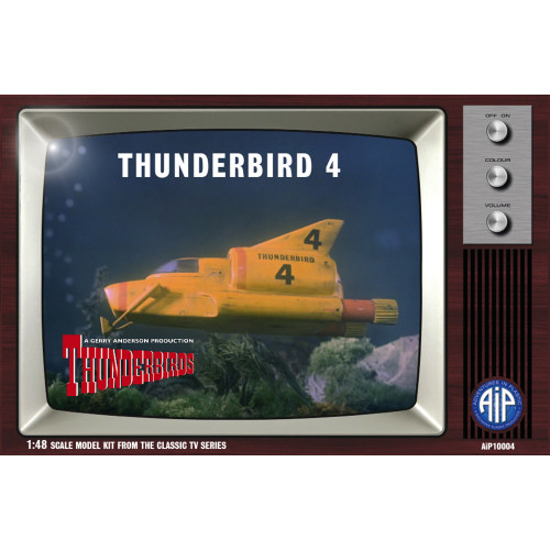 AIP10004 1:48 Scale Thunderbird 4 Plastic Construction Kit