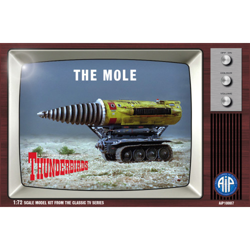 AIP10007 1:72 Scale The Mole Plastic Construction Kit