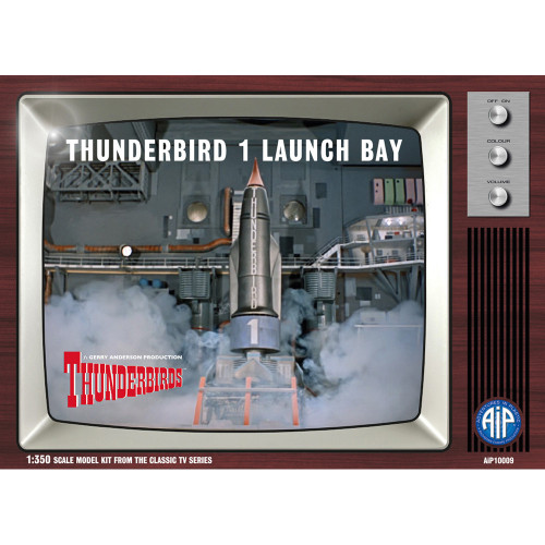 AIP10009 1:350 Scale Thunderbird 1 Launch Bay Plastic Construction Kit