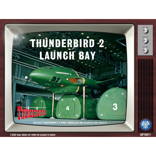 AIP10011 1:350 Scale Thunderbird 2 Launch Bay Plastic Construction Kit