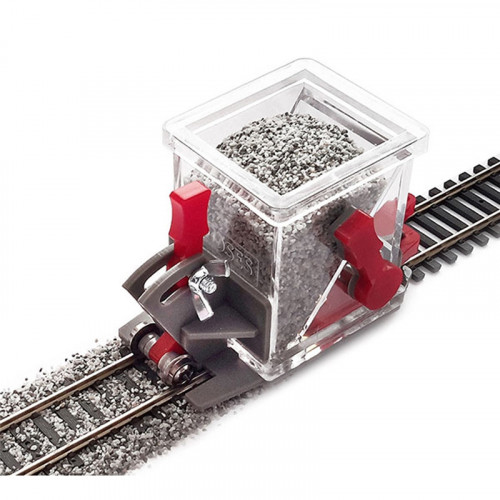 BS-HO-02 Ballast Spreader Wagon with Shut Off & Height Adjustment for 00 Gauge Track