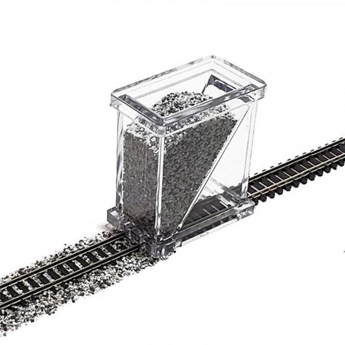BS-N-01 Ballast Spreader for N Gauge Track