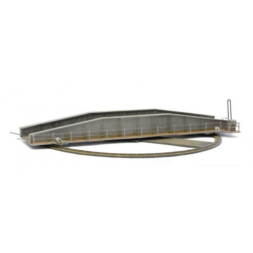 C001 Plastic Turntable Kit - Manual Operation - 25cm diameter