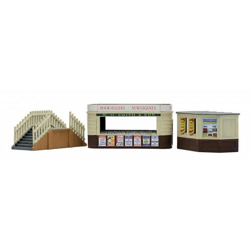 C018 Kiosk and Platform Steps Plastic Kit