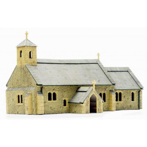 C029 Village Church Plastic Kit