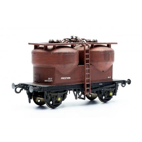 C043 20 Ton Twin Silo Cement Wagon Prestwin