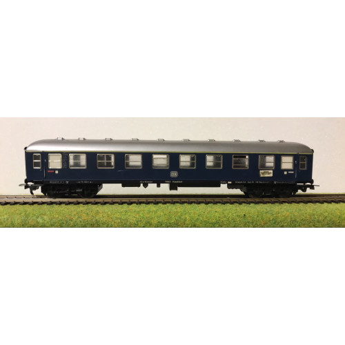 Fleischmann HO Scale German DB Railways Coach in Blue Livery