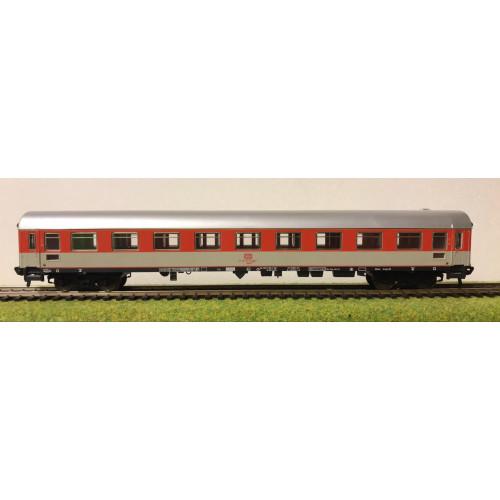 Fleischmann HO Scale German DB Railways Coach in Red/Grey Livery