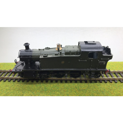 Kit Built GWR 55xx Prairie Tank 2-6-2T Steam Locomotive No.5542 in Green with Shirtbutton Emblem