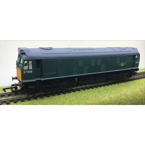 Hornby R072 Class 25 Diesel Locomotive in BR Green