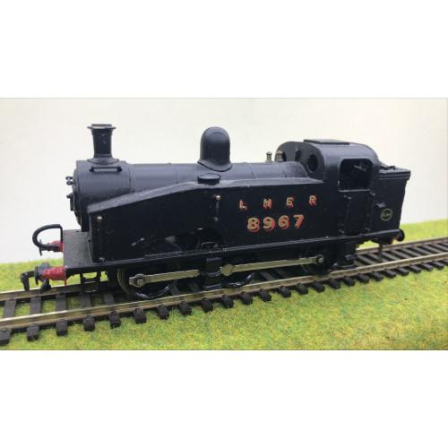 Kit Built LNER Class J50/3 0-6-0T Steam Locomotive No.8967 in LNER Black