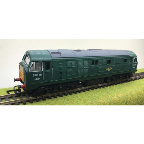 Hornby R080 Class 29 Diesel Locomotive No.D6110 in BR Green