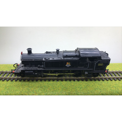 Airfix Class 6100 2-6-2T Steam Locomotive No.6167 in BR Black with Early Emblem