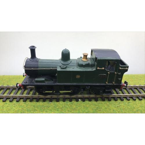 Kit Built Class 14xx 0-4-2T Steam Locomotive No.1420 in GWR Green