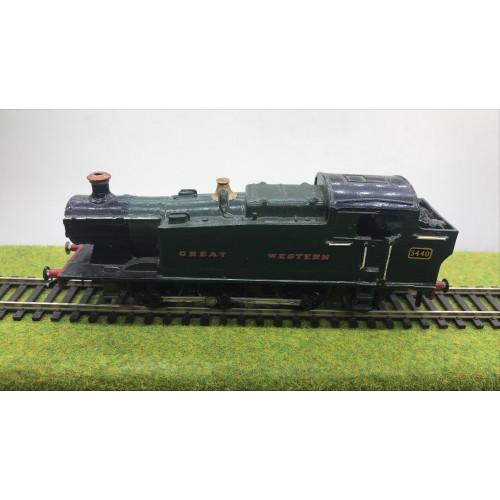 Kit Built 0-6-2T Steam Locomotive No.3440 in Great Western Green